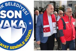 Canik Belediyesi 'Fahri Pandemi Müfettişleri' Uygulamasını Başlattı