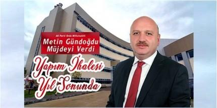 Gölköy'e Devlet Hastanesi Müjdesi