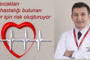 Sıcak Havalarda Kalp Hastaları için 7 Uyarı