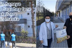 Tekkeköy'de Her Eve Kapı Teslimi Maske