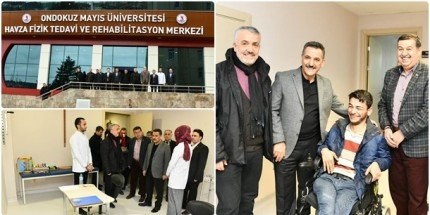 Havza Fizik Tedavi ve Rehabilitasyon Merkezi Hasta Kabulüne Başladı