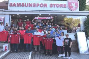 Samsunspor'a Ak Gençlik'ten Destek