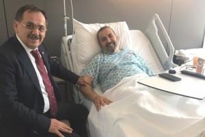 Mustafa Demir'den İsmail Uyanık'a 'Geçmiş Olsun' Ziyareti