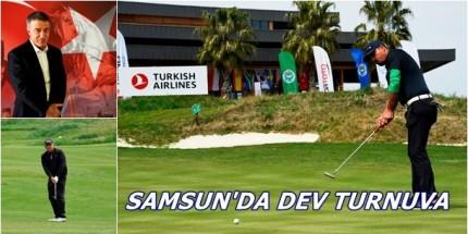 Avrupa'nın 2'nci Büyük GOLF Turnuvası Samsun'da Düzenlenecek