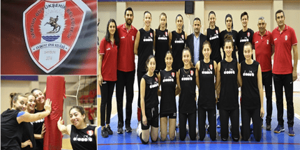Samsun Anakent Voleybol Takımı Elbistan Maçına Hazırlanıyor