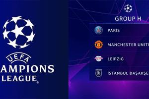 UEFA Şampiyonlar Ligi'nde Gruplar Belirlendi