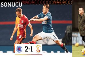 Galatasaray UEFA Avrupa Ligi'ne Erken Veda Etti