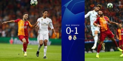 Galatasaray:0 -  Real Madrid:1