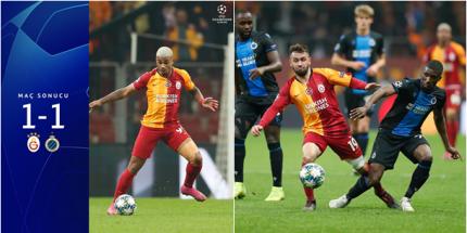 Galatasaray 1- Club Brugge 1