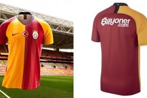 Galatasaray Yeni Sezon İç Saha Formasını Tanıttı