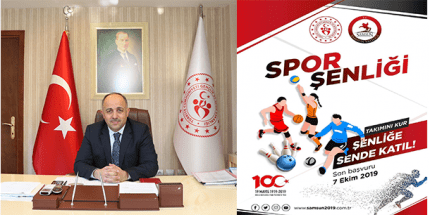 Samsun 100. Yıl Spor Şenliğine Hazırlanıyor