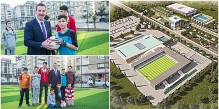 Başkan Tok'tan Spor Köyü Müjdesi