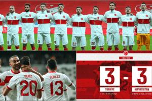 6 Gollü Hazırlık Maçı Beraberlikle Tamamlandı