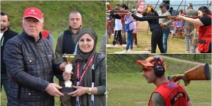19 Mayıs İlçesinde Düzenlenen Trap Atışları Yoğun İlgi Gördü