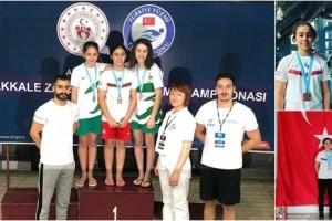 Türkiye Şampiyonu OMÜ Vakfı Koleji'nden