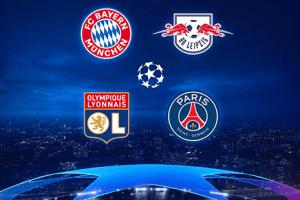 Şampiyonlar Ligi Son 4'te İki Alman İki Fransız Takımı Yarışacak