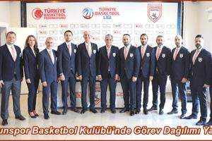 Samsunspor Basketbol Kulübü Yönetim Kurulu Belirlendi