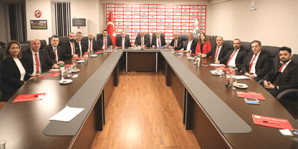 Samsunspor Yönetiminde Görev Dağılımı Yapıldı