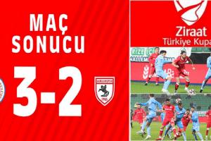 Samsunspor Tur Umudunu İkinci Maça Bıraktı