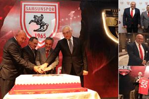 Samsunspor 55'inci Yılını Kutladı