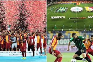 TFF Süper Kupa 2019 Galatasaray'ın