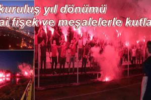 Samsunspor 55'inci Yıl Dönümünü Meşalelerle Kutladı