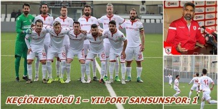 Samsunspor Liderlik Şansını Elinden Kaçırdı