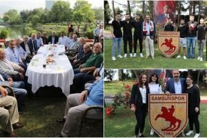 Samsunspor'da Geleneksel Bayramlaşma