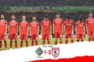 Samsunspor  İkinci Maça Bıraktı