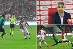Samsunspor Play-Off'ta Elendi