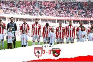 Samsunspor'un Zirve Yürüyüşü Devam Ediyor