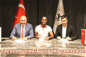 Samsunspor Ange-Freddy Plumain'i Transfer Etti