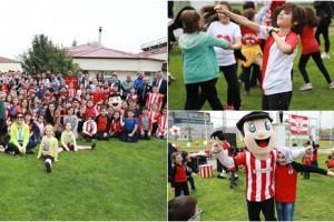 Samsnspor Kulübü'nde 'Samsunspor Çocuk Şenliği' Düzenlendi