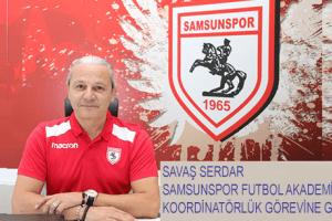 Samsunspor Futbol Akademi Koordinatörlüğüne Savaş Serdar Getirildi
