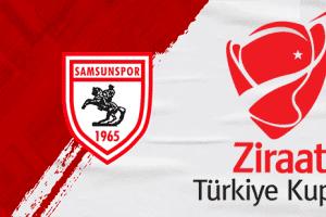 Samsunspor'un Türkiye Kupası 3. Eleme Turu Rakibi Belli Oldu