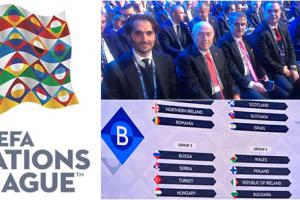 A Milli Takımımızın UEFA Uluslar Ligi'ndeki Rakipleri Belli Oldu