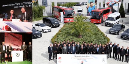TFF ile Mercedes Benz Türk Arasındaki Sponsorluk Sözleşmesi Uzatıldı