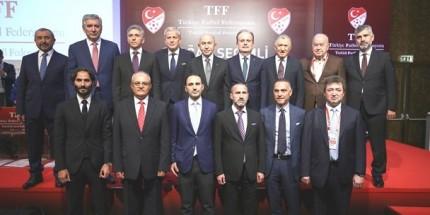 Türkiye Futbol Federasyonu'nda Görev Dağılımı Belirlendi
