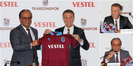 Trabzonspor, Vestel İle Sponsorluk Anlaşması İmzaladı