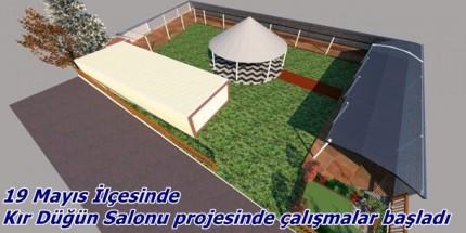 Kır Düğün Salonu Projesi Başladı