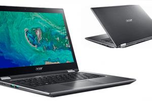 Acer'in Spin 3 Dönüştürülebilir Şık Dizüstü Bilgisayarı Türkiye'de