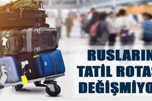 Ruslar Son 2 Yıldır En Çok Türkiye'yi Ziyaret Ediyor