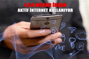Dünya Nüfusunun Yüzde 59'u Aktif İnternet Kullanıyor