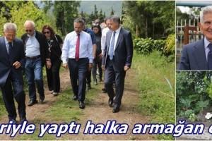 Atakum'a 'Atatürk Botanik Orman Parkı'