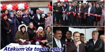 Atakum'da 3 Proje Birden Hizmete Açıldı