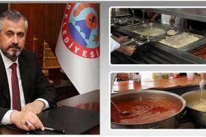 Bafra Belediyesi 2 Bin Aileye Yemek Yardımı Yapıyor