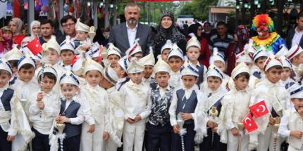 Bafra Belediyesi 16. Sünnet Şöleninde 80 Çocuk Erkekliğe Adım Attı