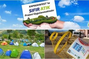 Türkiye'nin Sıfır Atık Temalı İlk Festivali; Kapıkayafest