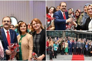 Başkan Zihni Şahin: ' Kadınlarımız, Modern Türkiye'nin Simgesi'