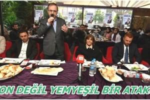 Başkan Zahni Şahin Gençlerle Buluştu, Projelerini Anlattı